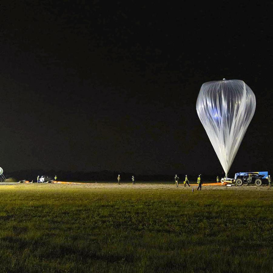 Prototyp balóna vypustili z mysu