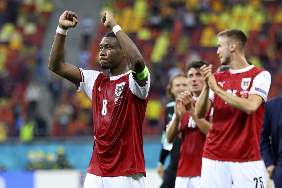 David Alaba po zápase