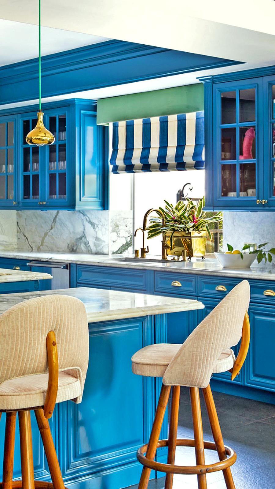 Varenie v luxusnej  kuchyni