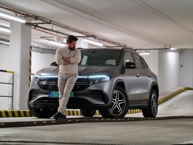 Mercedes-Benz EQA ako horúca novinka na Slovensku - v redakčnom teste AUTOVINY.SK