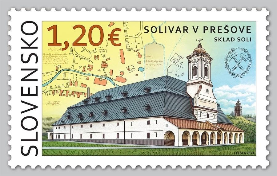 Známka Prešovského Solivaru