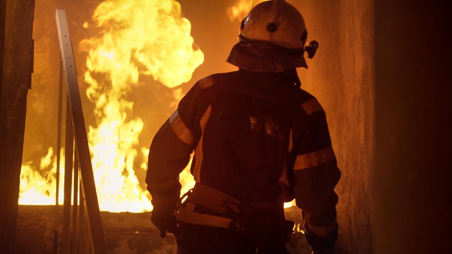 Požiar v škole bojových