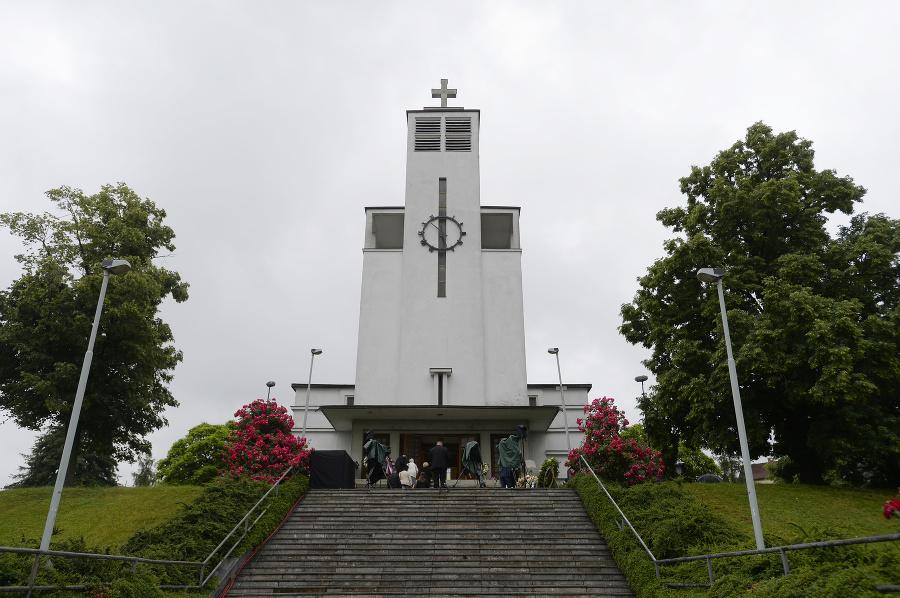 V Kostole sv. Anežky