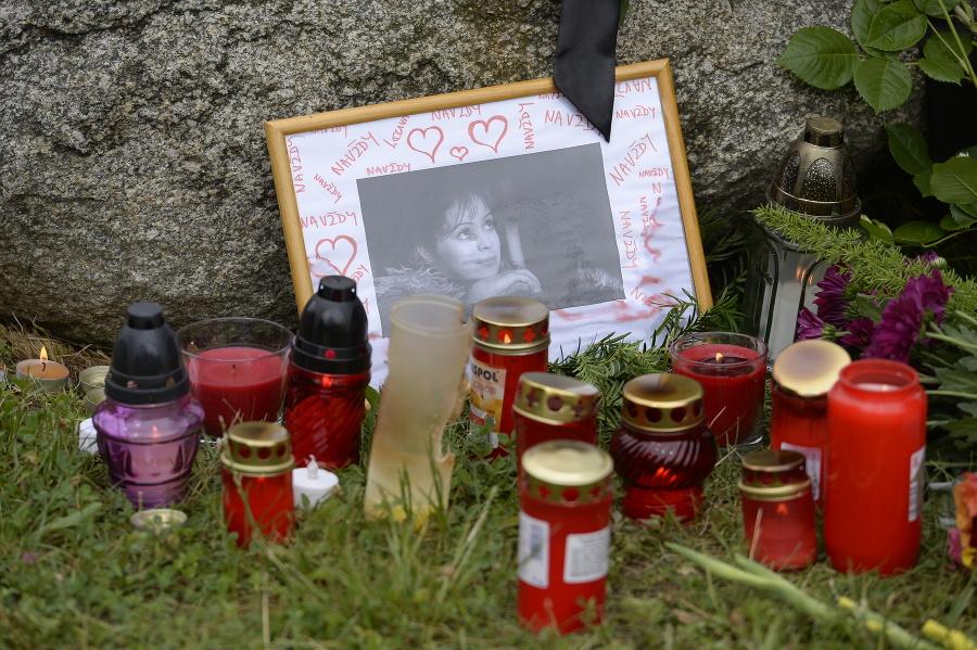 Pohreb Libuše Šafránkovej.