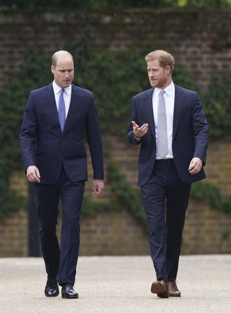Britskí princovia William a