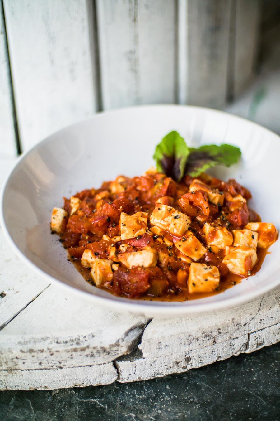 Tofu v paradajkách