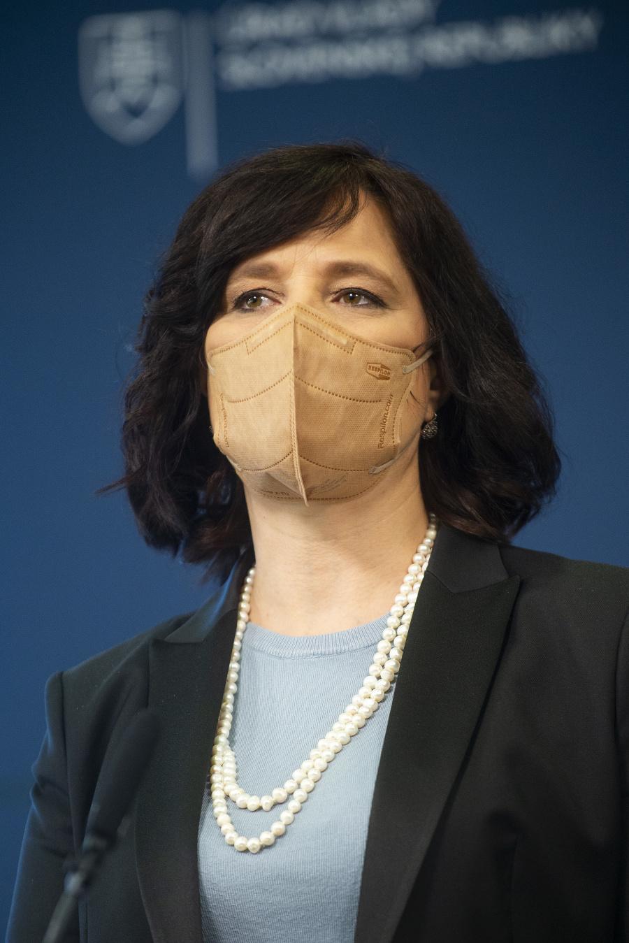 Ministerka Remišová.