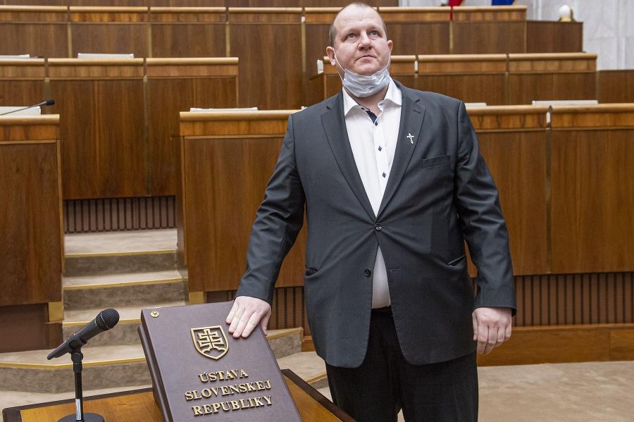 Poslanec Peter Krupa (ĽSNS)