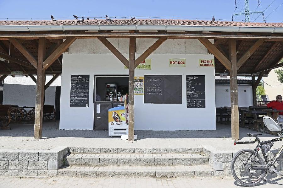 Draždiak: Bufet Oáza pri Draždiaku