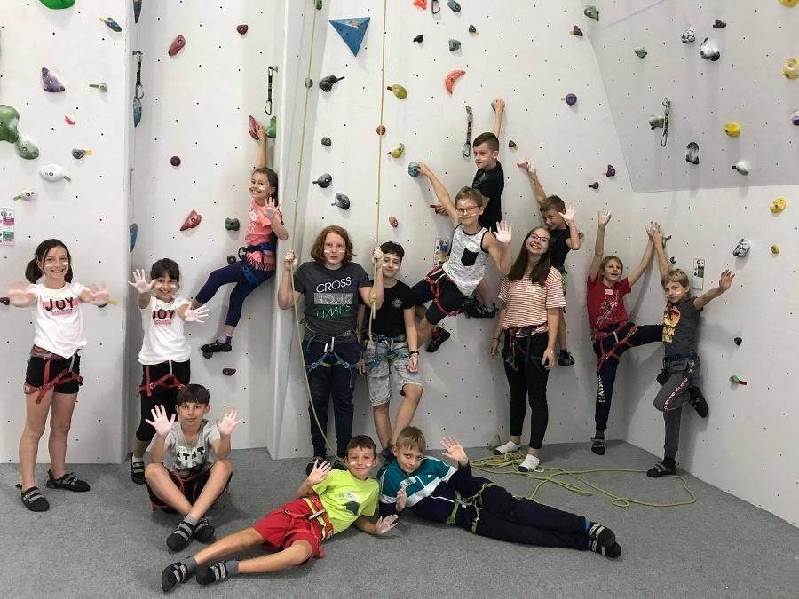 Denný lezecký tábor