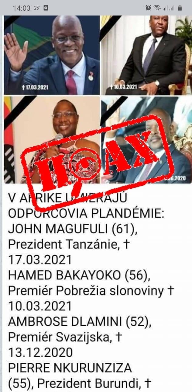 Ibi Maiga si vymyslel ďalší hoax.