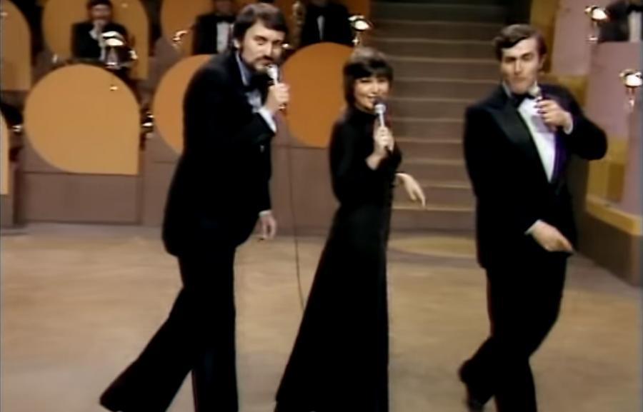 Legendárne vystúpenie s Janou Kocianovou v Silvestri 1977.