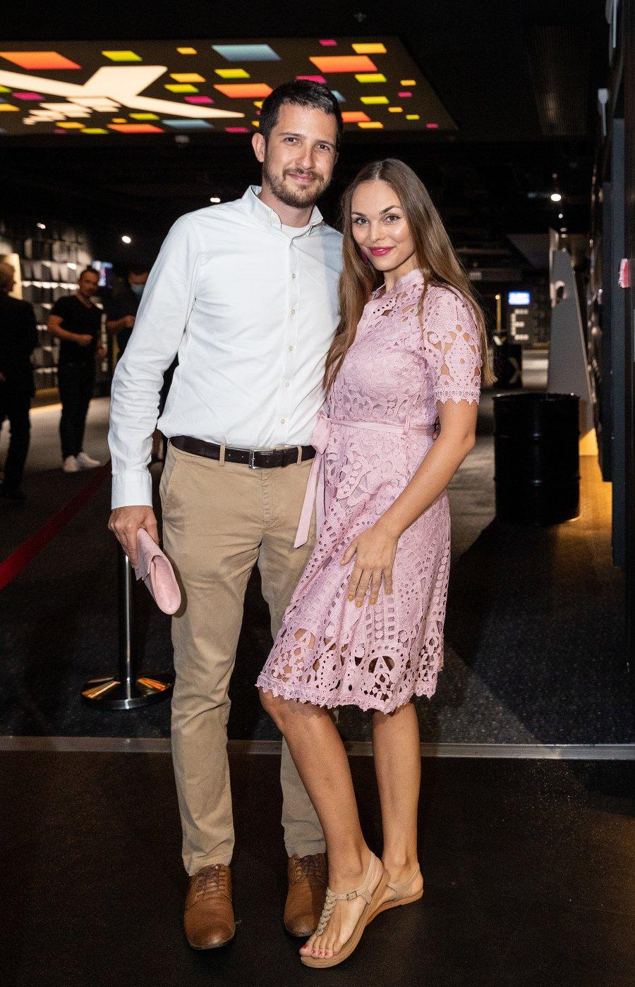 Soňa Štefková s partnerom
