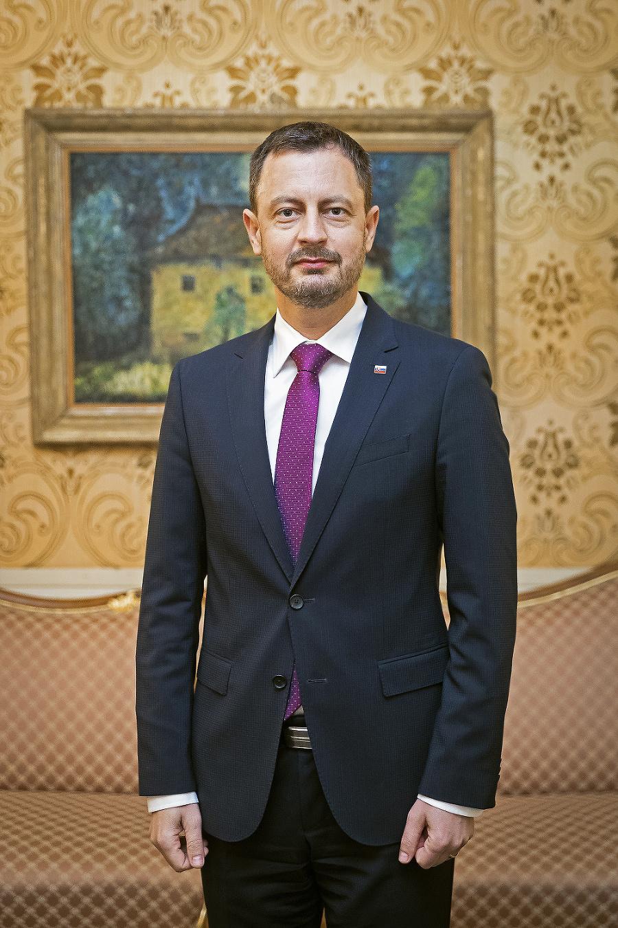 Premiér Eduard Heger