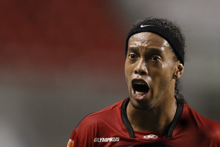 Brazílčan Ronaldinho