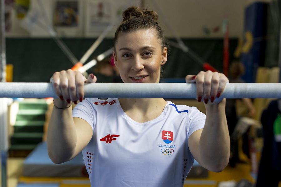 Gymnastka Barbora Mokošová na športovom oblečení oceňuje najmä pohodlné materiály.