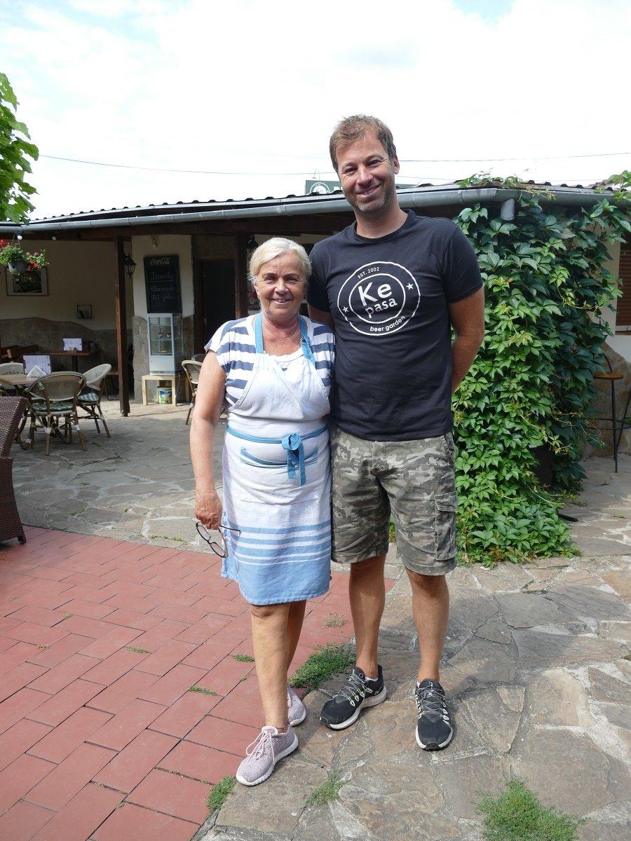 Valéria (64) a Daniel (43) Knapovci, majitelia reštaurácie Kepasa