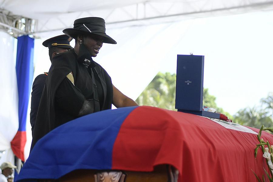 Bývalá prvá dáma Haiti