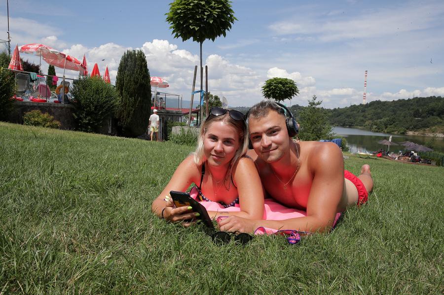 Jergi (21), Banská Bystrica a Veronika (18), Sielnica (okr. Zvolen), Športový areál Orlík Zvolen