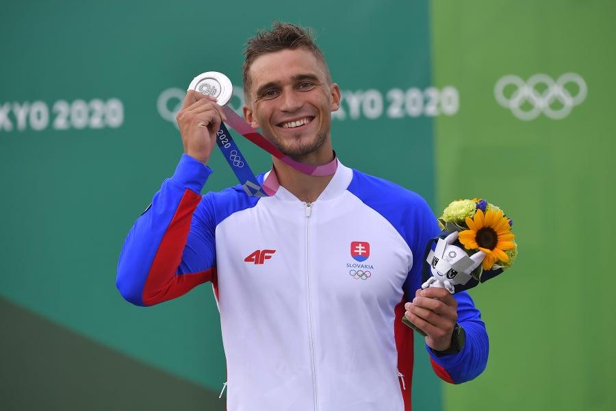 Slovenský reprezentant vo vodnom slalome Jakub Grigar získal striebornú medailu vo finálovej jazde kategórie K1.