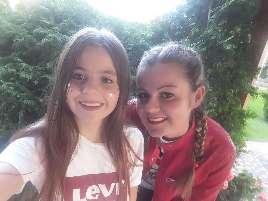 Jana (40), dcéra Viktória (15), Kalinkovo (okr. Senec)