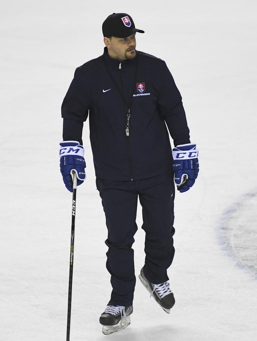 Tréner Andrej Podkonický sa