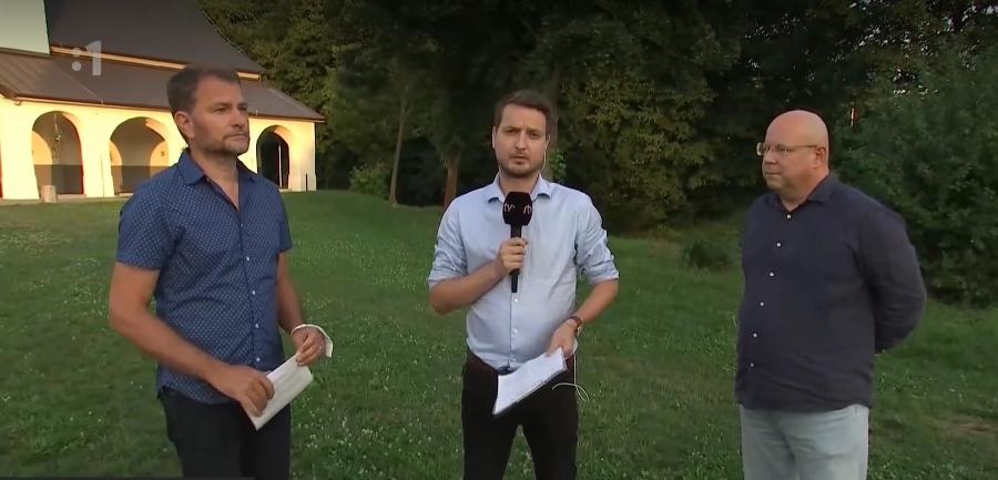 Zuzanu z Prešova navštívil na druhý deň Igor Matovič a Jaroslav Rezník.