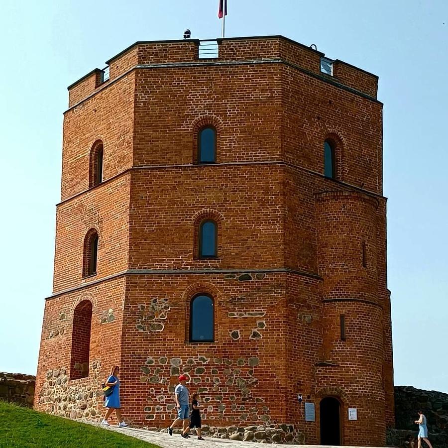Gediminasov hrad v Litve.