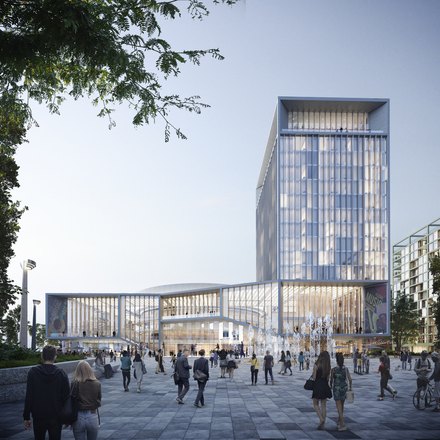 Nový Istropolis - kultúrno-kongresové centrum