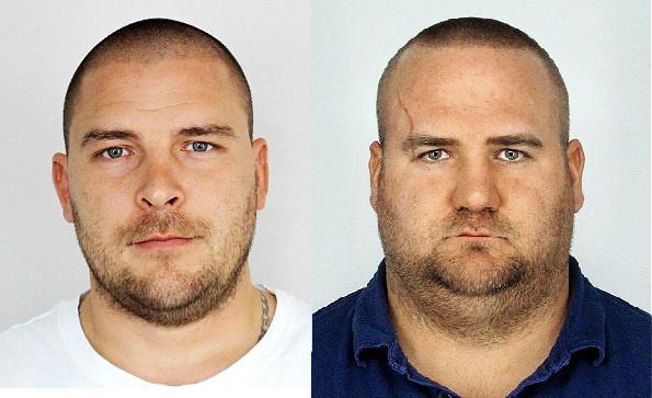 V prípade ide o zásah inšpekcie, ktorá chcela zadržať obvinených kajúcnikov Zemana (vľavo) a Petrova, no napokon im ušli.