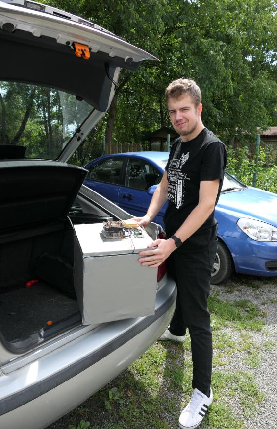 Autochladnička
