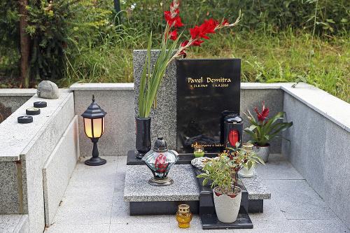 Hrob Pavla Demitru staršieho