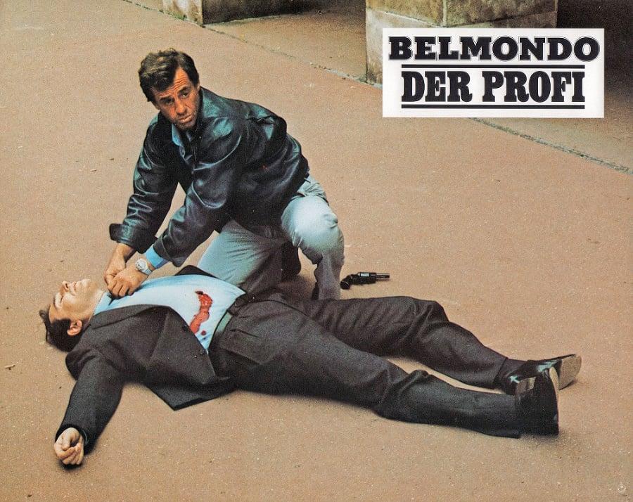 Belmondo vo filme Profesionál (1981)