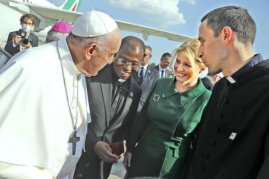 Česť pozdraviť pápeža Františka