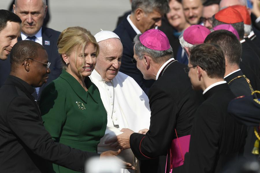 Pápež František a druhý