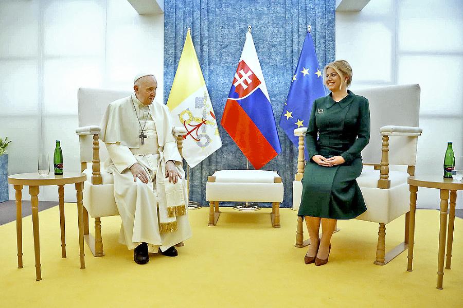 So Zuzanou Čaputovou strávil