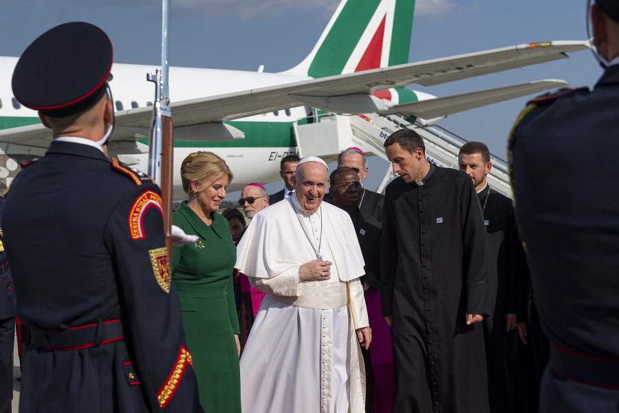 Pápež František a prezidentka