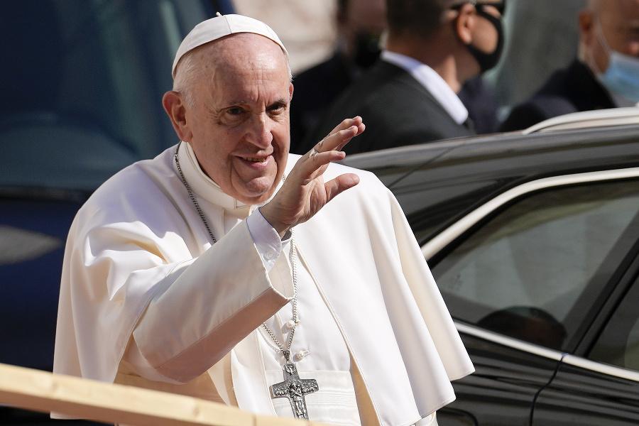 Pápež František na návšteve