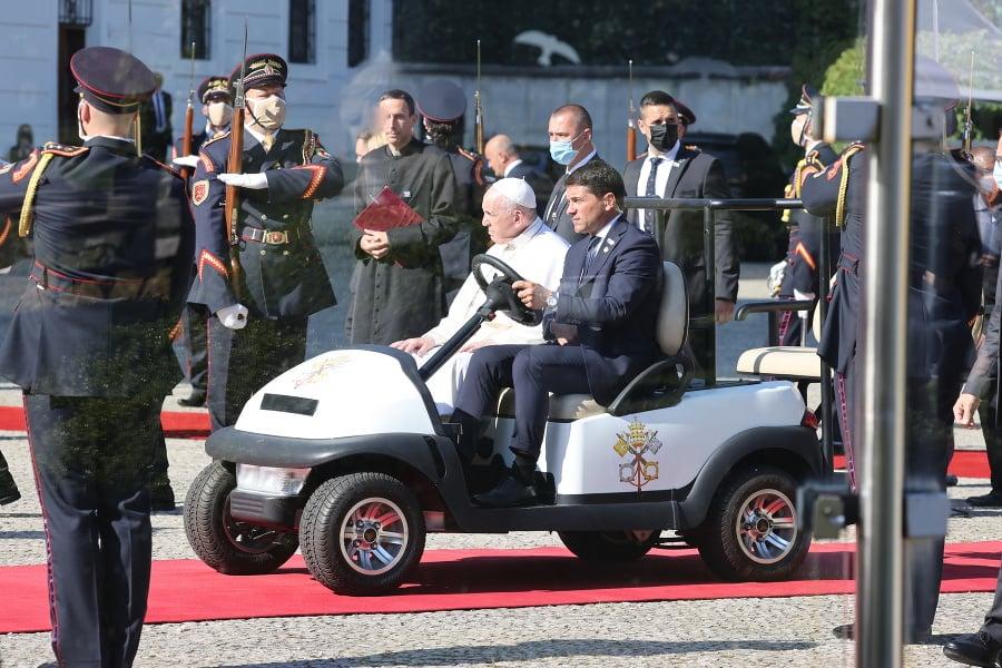 Pápež František na Slovensku.