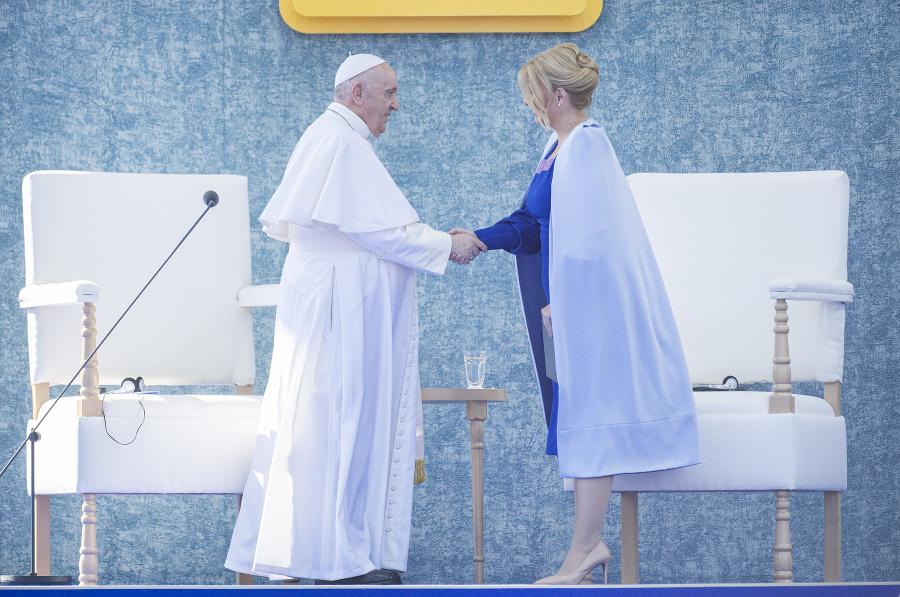 Prejavy pápeža Františka aj