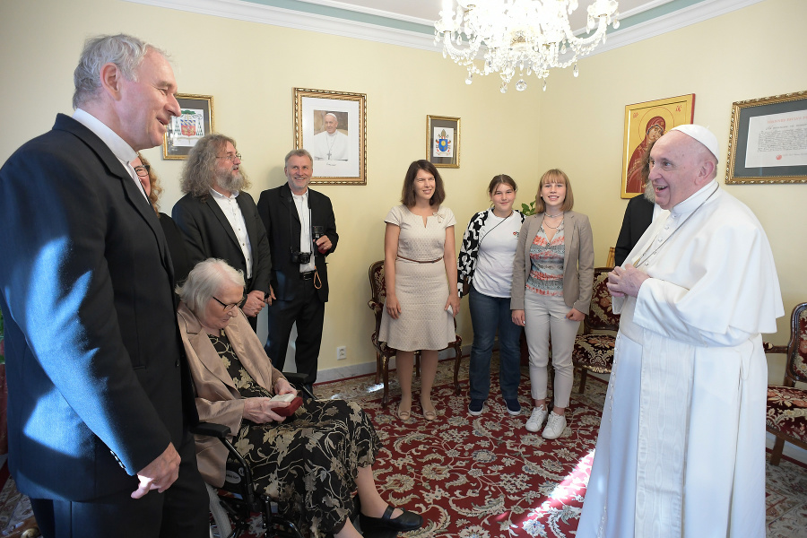 Apoštolská nunciatúra, Bratislava 13. 9. 2021 14.45 hod.: