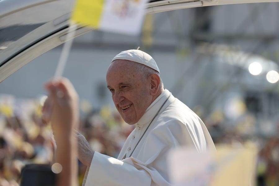 Pápež František v Prešove.