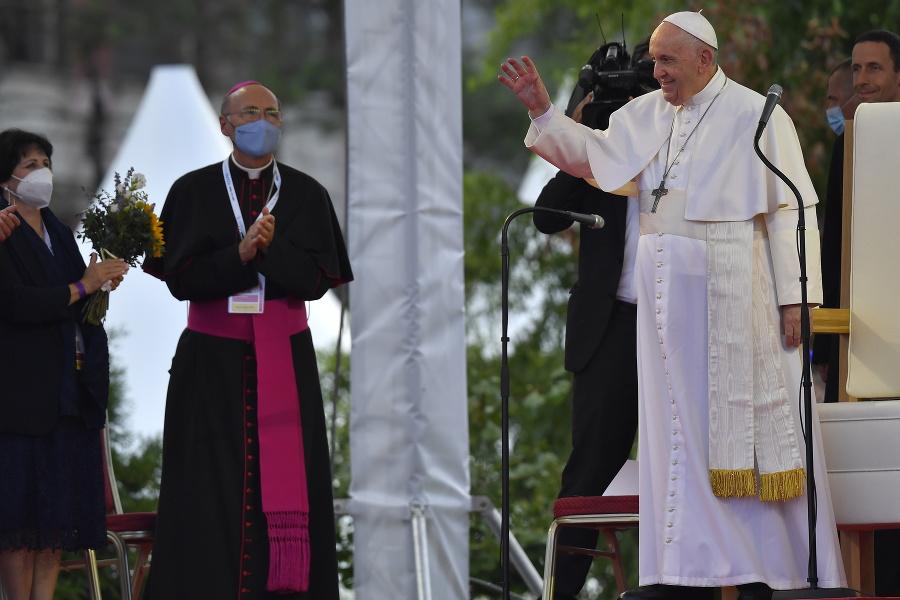 Pápež navštívil košické sídlisko