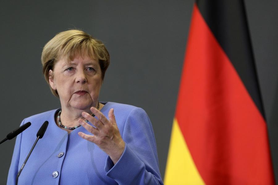 Nemecká kancelárka Angela Merkelova.