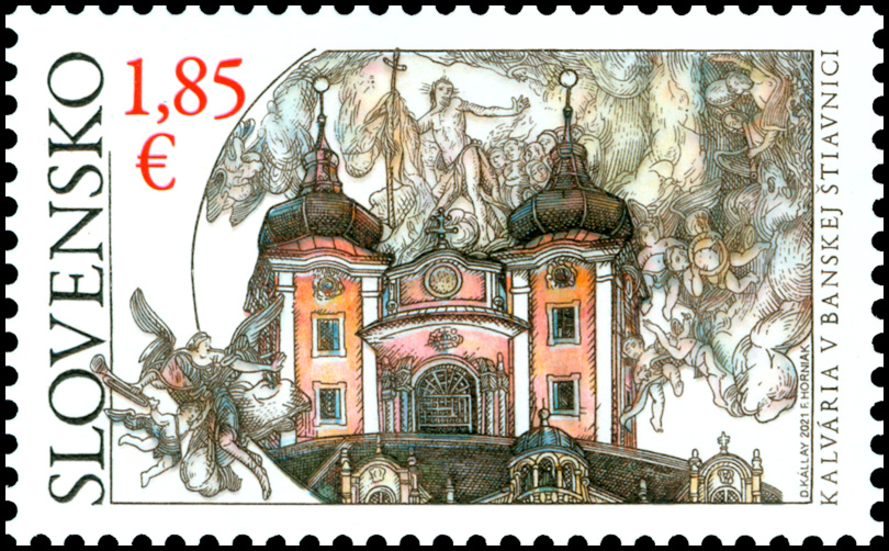 Kalvária v Banskej Štiavnici (známka)