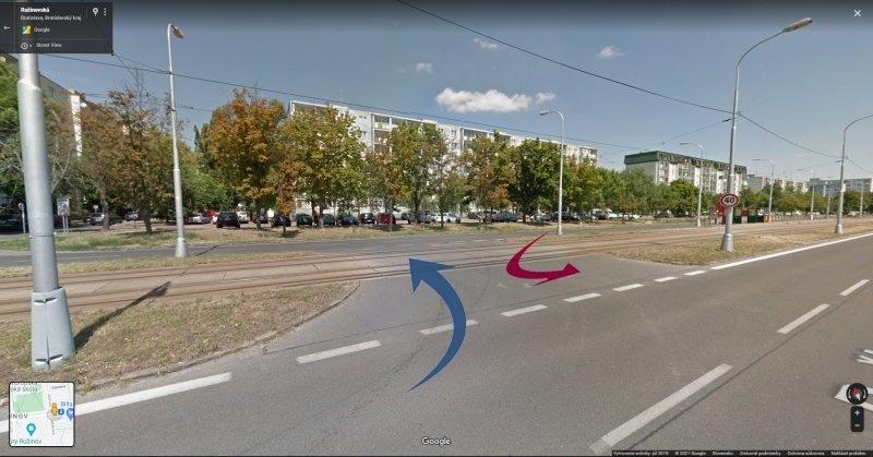 SPRÁVNE RIEŠENIE: Takto sa máte správne otáčať v križovatke tvaru H. Ako vodič so zámerom otočiť sa do opačného smeru sa máte držať čo najviac vľavo. Rovnaké pravidlo platí aj pre vodiča v protismere.