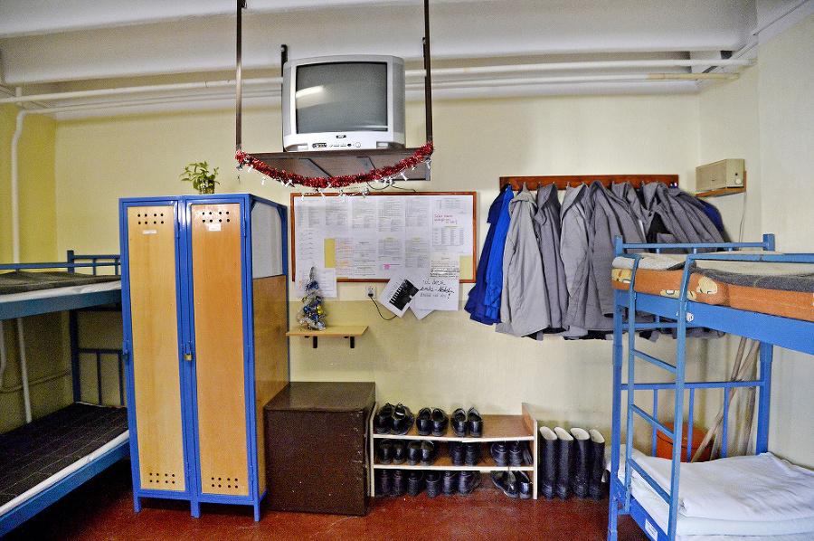 Takto to vyzerá za múrmi väznice v Dubnici nad Váhom.