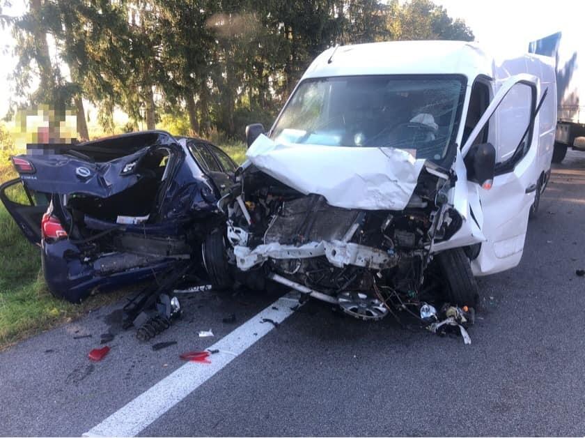 K nehode došlo medzi Banskou Bystricou a Zvolenom