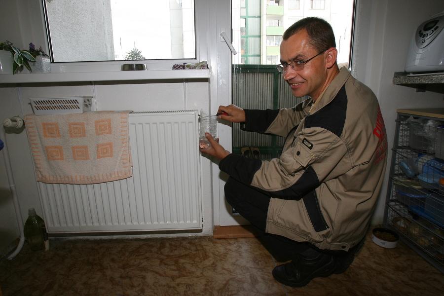 Odvzdušnenie radiátorov.