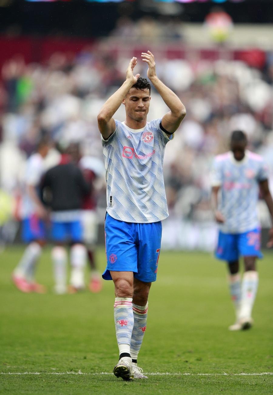 Futbalista Manchestru United Cristiano